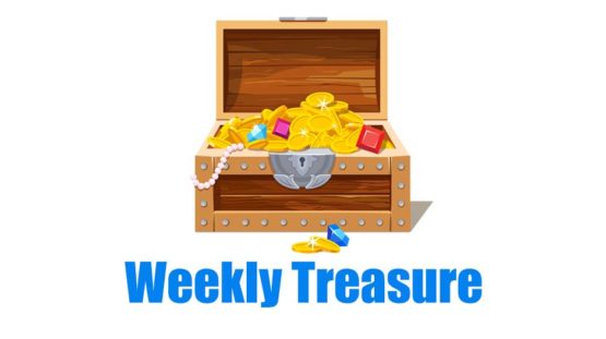 weekly treasure