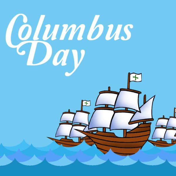 Columbus Day: Schools Closed