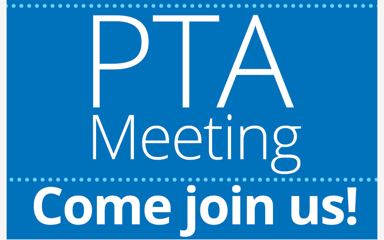 parent teacher association meeting - come join us