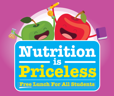 Nutrition is Priceless - Free lunch for all students picture