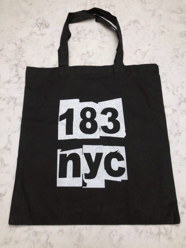 p.s. 183 tote bag in black