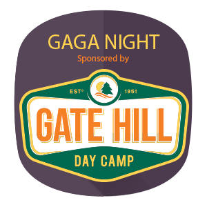 Gaga night sponsored by Gate Hill Day Camp