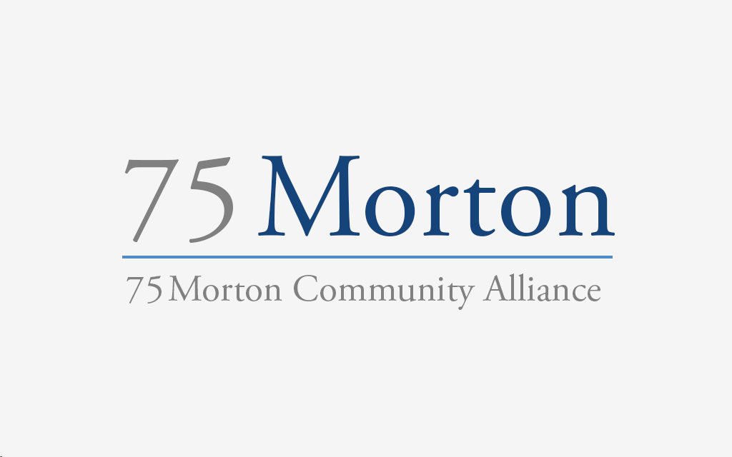 75 Morton Middle School Logo