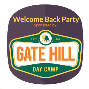 Welcome Back Party Gate Hill Day Camp
